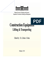 Lifting and Transporting