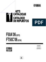 catalogo de partes F50A FT50 2006