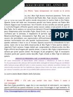 Tutti Messaggi Di Gesu MDM Del 2012