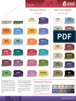 JS Background and Iridescent Colour Chart