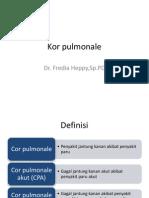 Kor Pulmonale Akut Dan Kronik