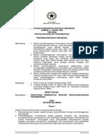 Peraturan Pemerintah Nomor 2 Tahun 1999 tentang TENTANG PENYELENGGARAAN TRANSMIGRASI