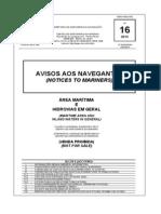 Aviso Aos NavegantesN16 - 13