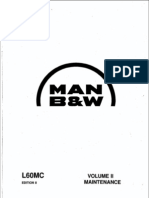 Main Engine MAN B&W L60MC Ed. 8 Vol.II – Maintenance