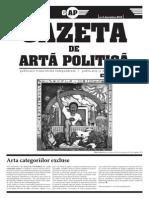 Gazeta de Artă Politică no.4 - decembrie 2013