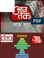 Research on AajTak