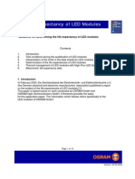 Life Expectancy of LED Modules