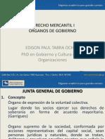 DERECHO MERCANTIL I Organos de Gobierno