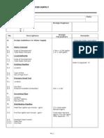 Design Info- Water Supply