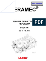 Spare Parts Filtro Larox Ceramec 110