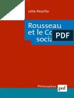 Lélia Pezzilo Rousseau et le Contrat social  2000