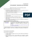 Formulaire GEN12 Facture Demande de Paiement