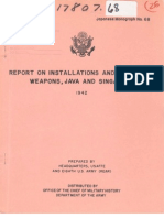 Report Weapons Singapore Java