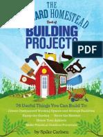 The Backyard Homestead Book of Building Projects — Sneak Peek