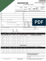 Registration Form Enabled