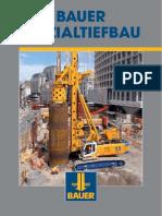 BAUER Spezialtiefbau GmbH - Imagebrochure