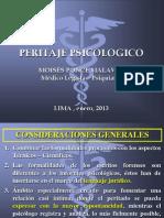 Peritaje Psicologico Clase 2