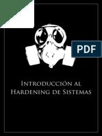 Introducción al Hardening de Sistemas