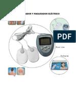 Manual estimulador y masajeador eléctrico Artmed