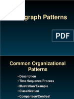 ParagraphPatterns