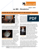 Asian MS Newsletter_2013_Issue 4