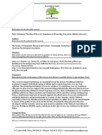 Policy Statement-The Role of Recovery Residences in Promoting Long-Term Addiction Recovery