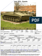 2S1 Gvozdika 122mm SPA - Russia