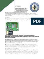 TV Remote Decoder Kit Ver 2_2