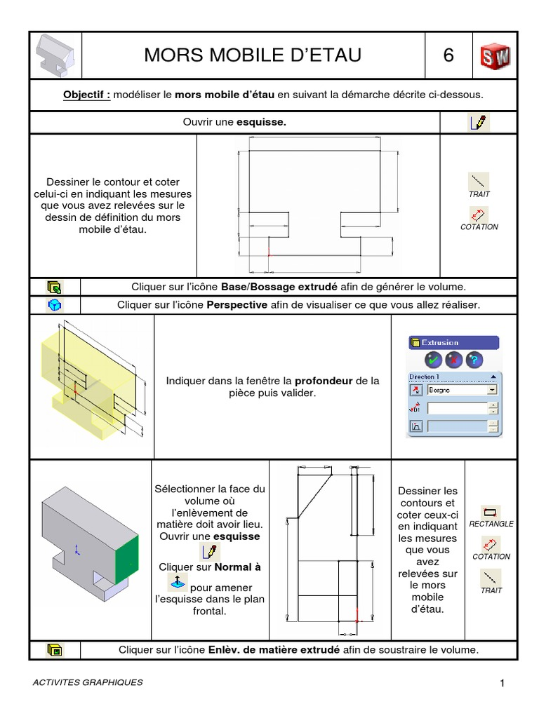 6 Mors Perspective Graphical Drawing