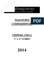 Dispensa Di Pianoforte Complementare 2014