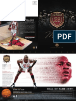 Michael Jordan Hall of Fame Catalog