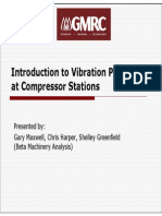 Introduction to Vibration Problems at Compressor Stations