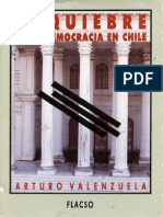Arturo Valenzuela, El Quiebre de La Democracia en Chile