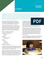 23894 Cambridge Primary English Curriculum Framework