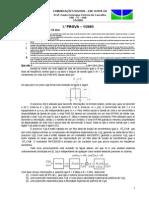 ComDig - Prova 1-1-2005