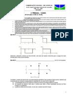 ComDig - Prova 3-1-2005