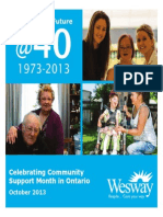 2013 Wesway Annual Publication