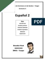 Espagnol cours 3ème A