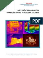 Termografía a transformadores sumergidos en aceite