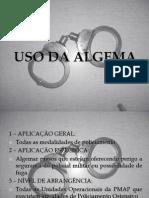 Uso Da Algema