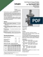 Medidor de Desplazamiento Positivo Smith Meter JB 10 S3