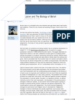 Bruce Lipton - The Biology of Belief - Metabunk.org