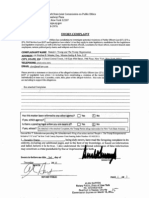 Donald Trump's Complaint Against Attorney General Eric Schneiderman