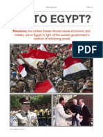 "(Edition #1) Online Debate ""American Aid to Egypt?"""