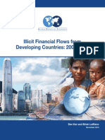 Illicit Financial Flows From Developing  Countries 2002-2011