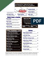 AmberJax Fish Market Grille lunch menu