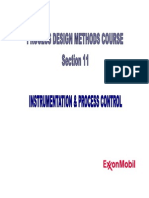 Section 11 - Instrumentation & Process Control