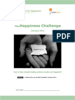 The Happiness Challenge Workbook Updated