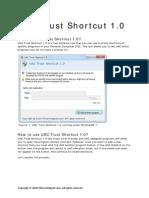 UAC Trust Shortcut