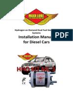 Manual Kit-3 Diesel [Us]